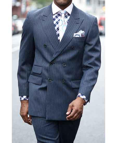 Mens Peak Lapel Double
