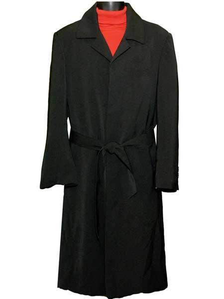 Black Full Length Plain