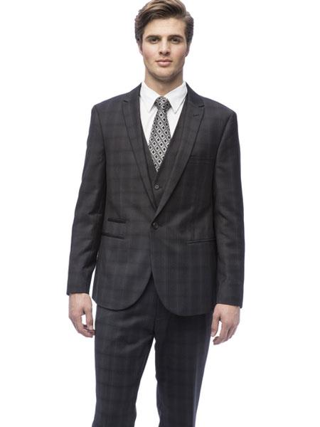 End Mens Peak Lapel
