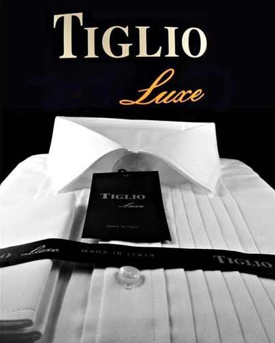 Tiglio Luxe Mens Pleated