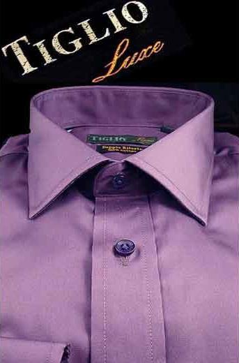 Mens Satin Lavender Cotton