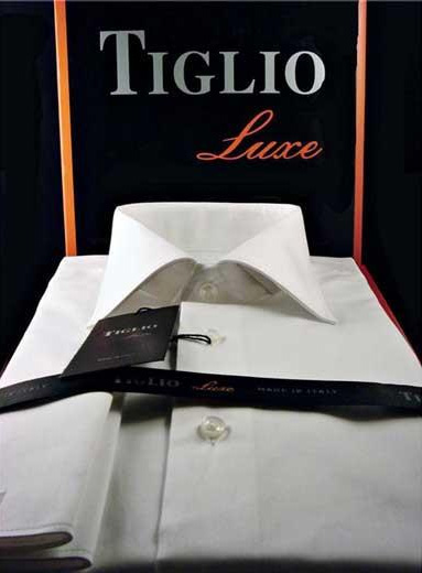 Luxe Mens Solid White