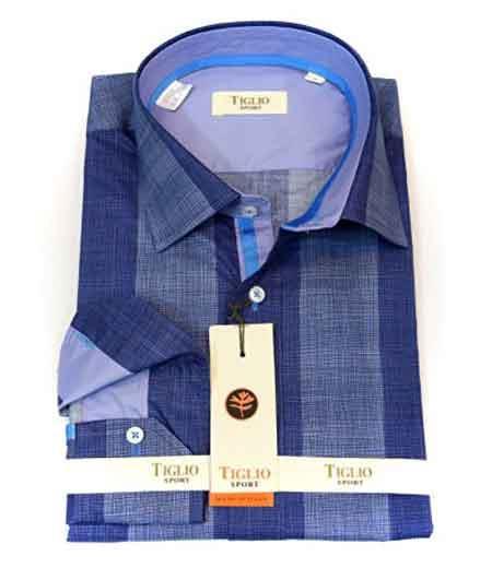 Blue Tiglio Italian Cotton