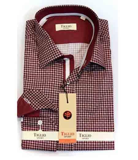 Italian Mens Brown Cotton