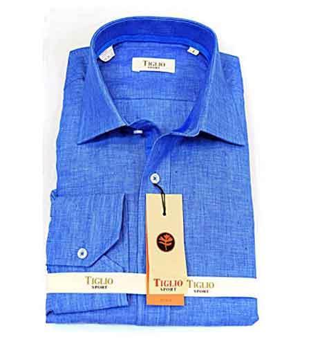 Italian Mens Button Front