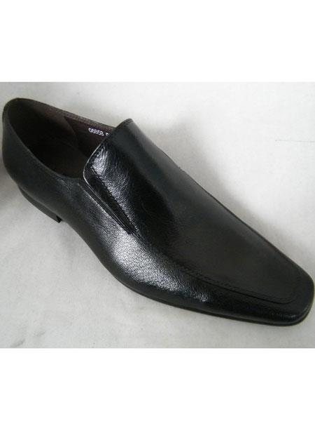 Black High Fashion Loafer