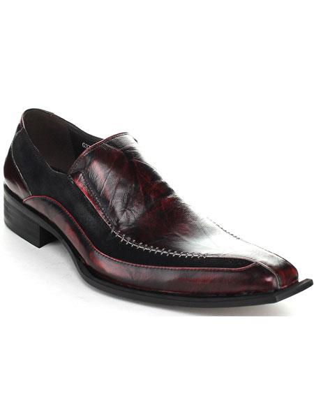 Burgundy High Fashionable Sleek