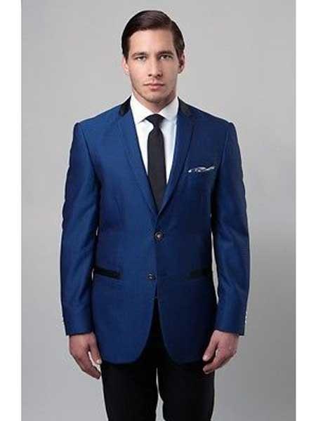 Royal Blue Slim Fit