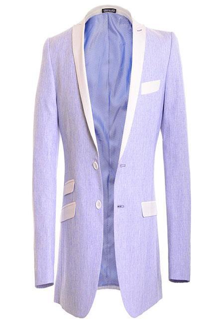 Light Blue Linen fashion