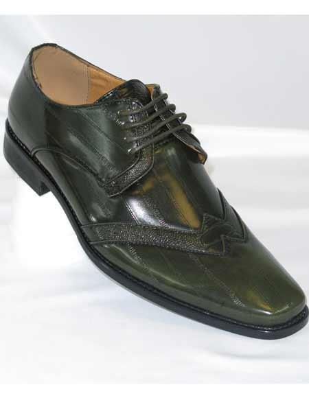 Green Mens Wingtip Two