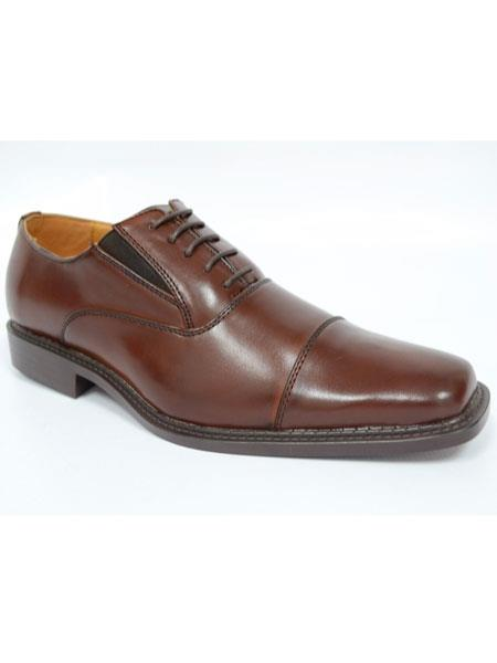 Cap Toe Lace Up