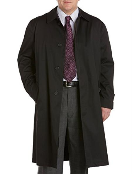 Extra Long Outerwear Black