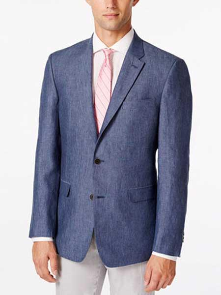 Linen Denim Sport Coat