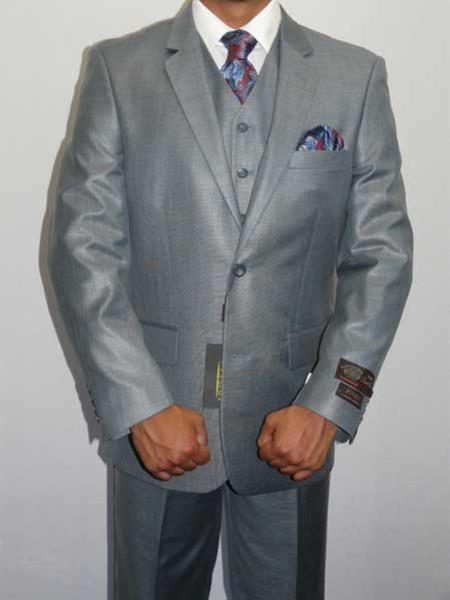 3 Piece Notch Lapel