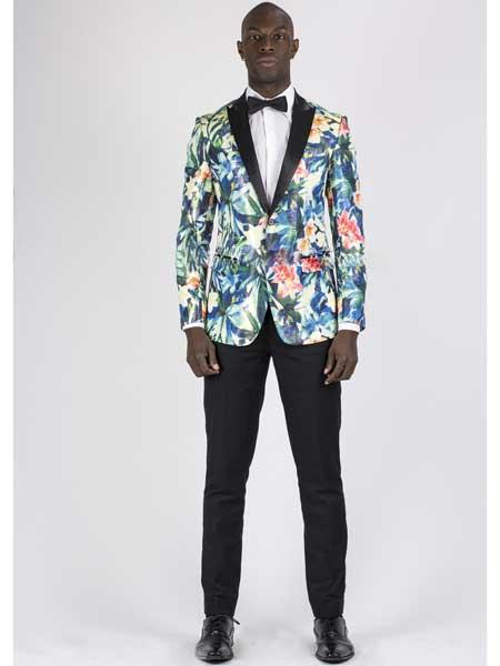 Flower Peak Lapel Single