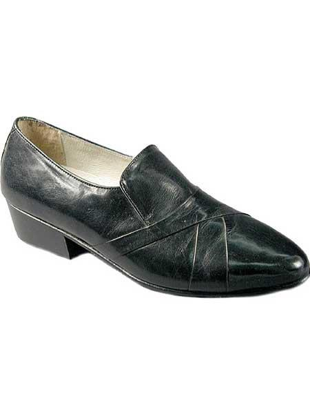 Black Leather Sole With