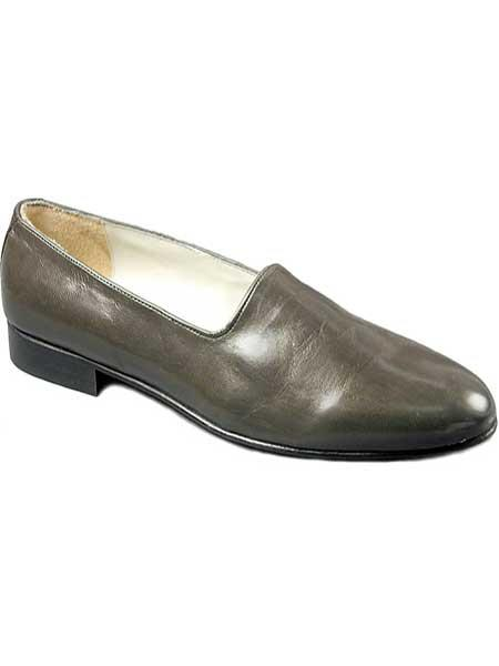 Genuine Leather Sole Gray