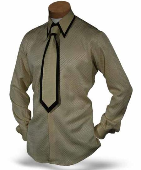 Single Button Collar Beige