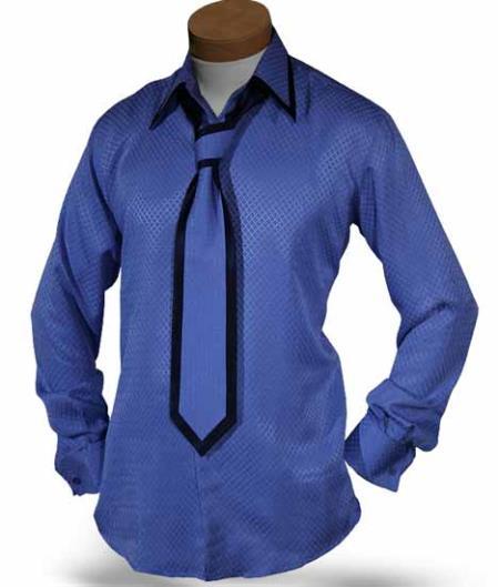 Formal Single Button Collar