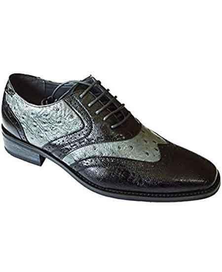 Leather Two Toned Wingtip