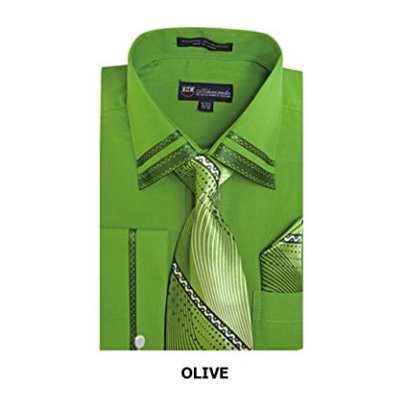 Olive Fashion Shirt with