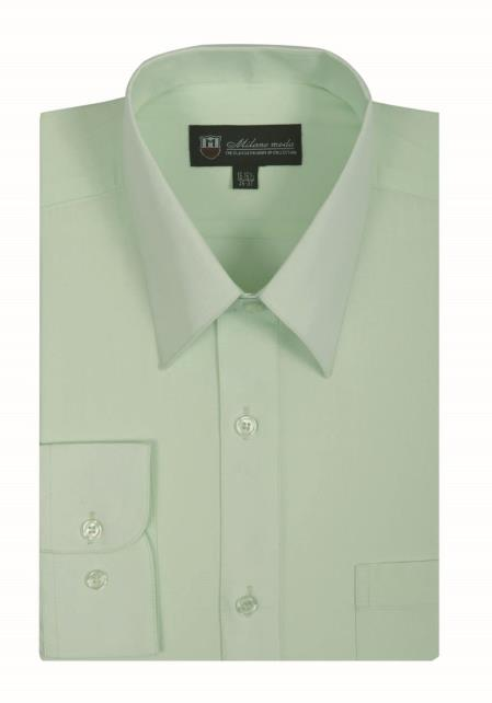 Classic Fit Straight Collar