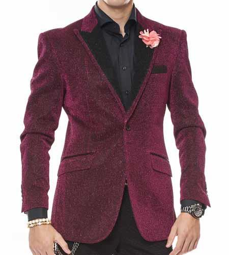 Mens Peak Lapel Celebratory