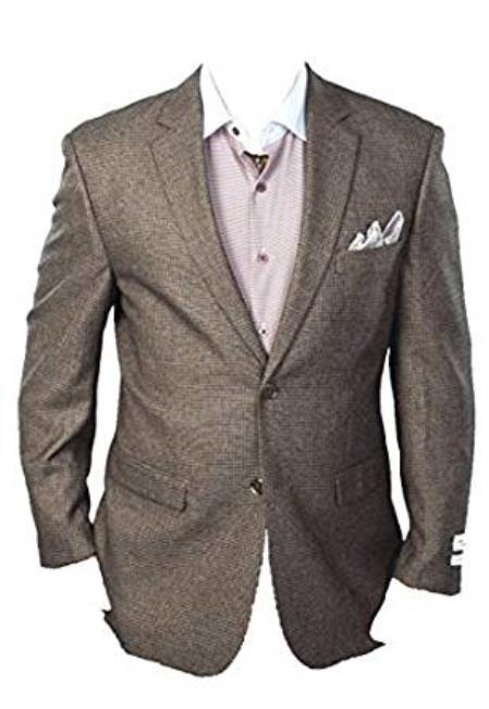 Brown Classic Fit Sport