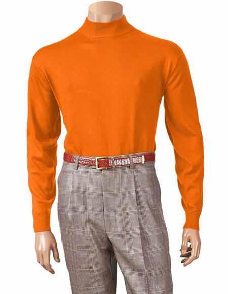 Long Sleeve Knit Mock