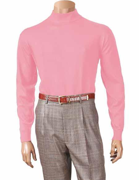 Pink Long Sleeve Acrylic