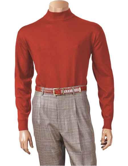 Mens Long Sleeve Knit