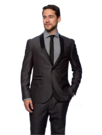 End Mens Charcoal Young