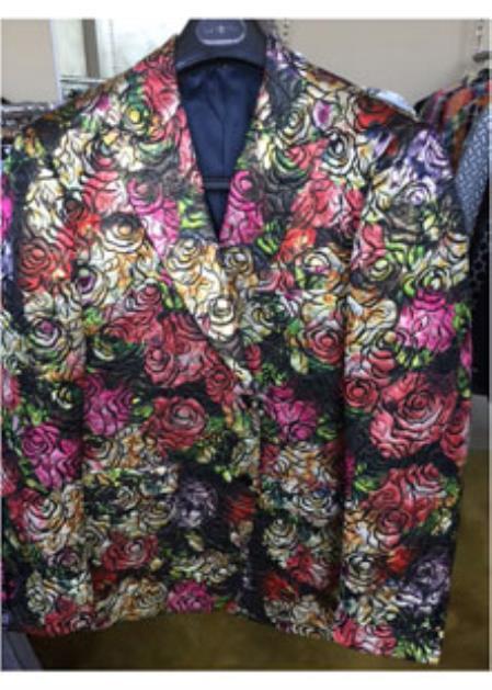 2 Button Pink Blazer