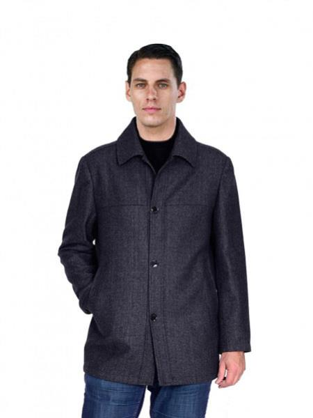 Pea Coat Outerwear Black