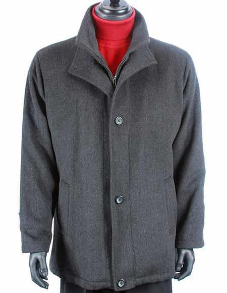 Wool Cashmere Solid Pattern