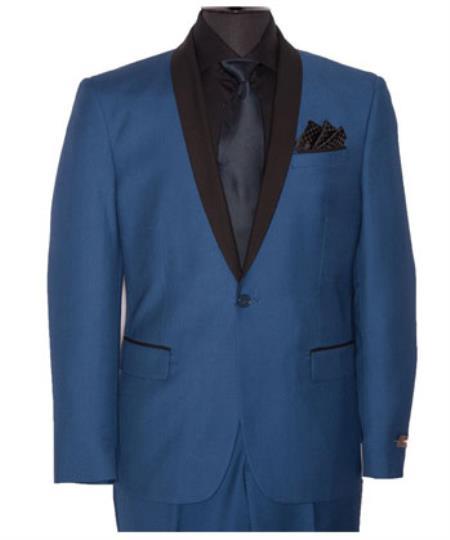 Slim Fit Indigo Blue