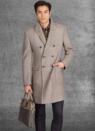 Double Breasted Overcoat ~