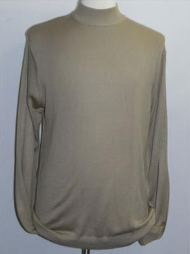 INSERCH Taupe Mock Neck