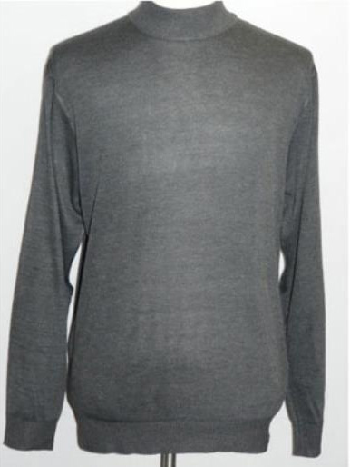 Charcoal INSERCH Mock Neck