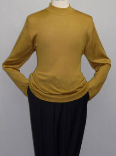 Gold INSERCH Mock Neck