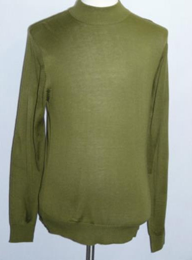 INSERCH Green Mock Neck