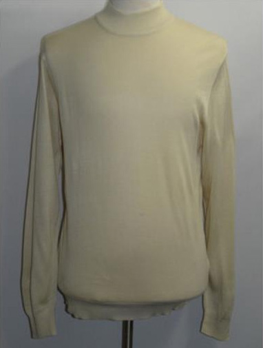 INSERCH Beige Mock Neck