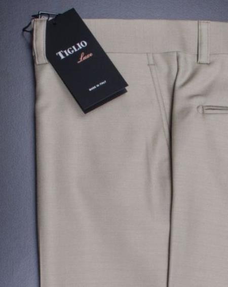 Mens Premium Tan Flat