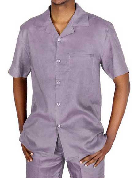 Lilac Short Sleeve 100%