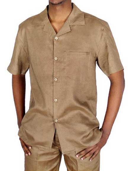 100% Linen Short Sleeve