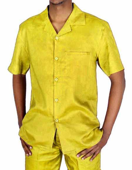 Canary 100% Linen Short
