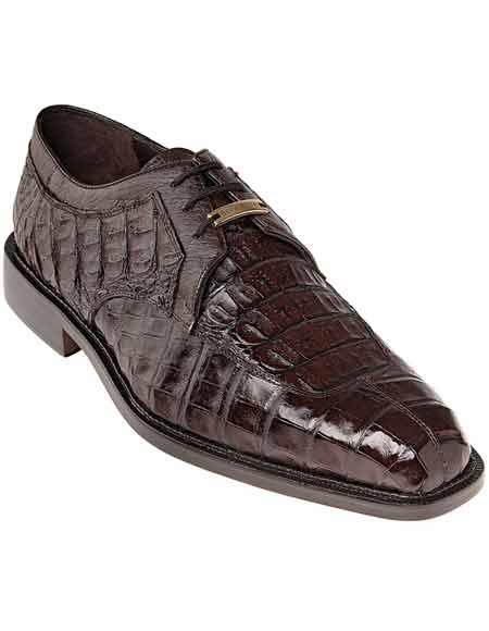 Mens Brown Laceup Style