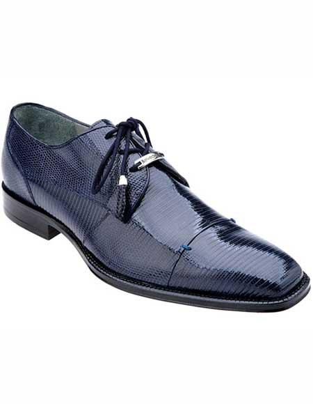 Mens Laceup Style Navy
