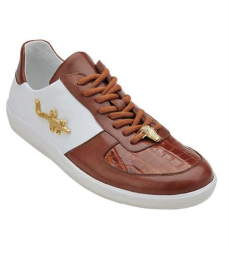 Shoes Honey White Crocodile