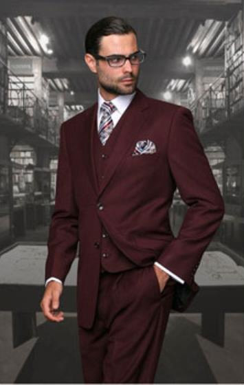 Mens Burgundy Wine 2